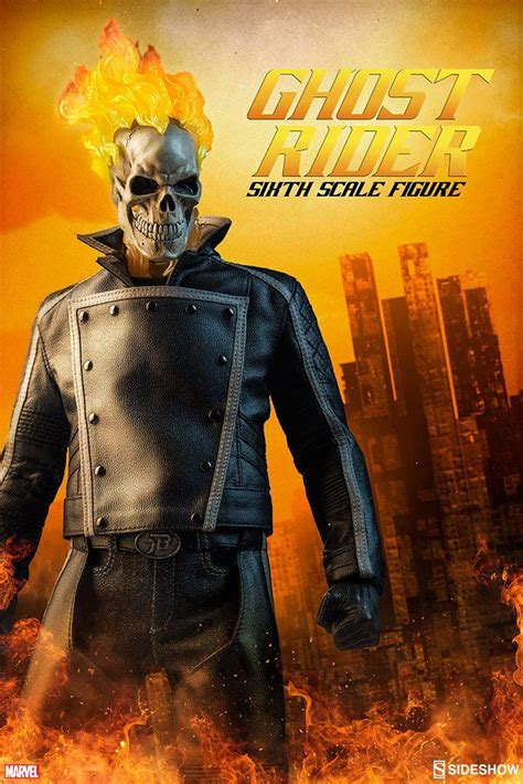 marvel comics ghost rider sideshow collectibles action