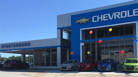 Chevrolet Dealers In Greenville Sc by Chevrolet Of Spartanburg Serving Gaffney Greenville Sc