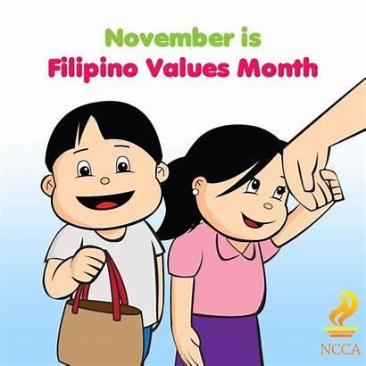 Filipino Values Clipart Month November Ncca Ph