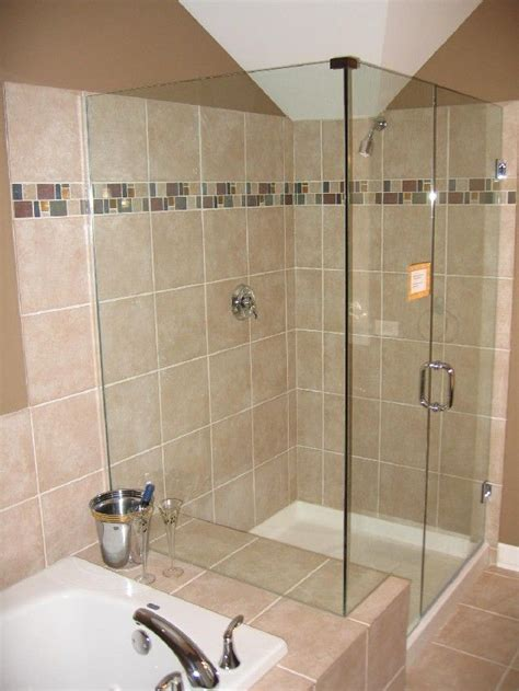Ceramic Tile Bathroom Designs by Tiny Bathroom Ideas Brown Ceramic Tiles Glass Shower Bath