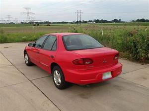 Sell used 2001 Chevy Cavalier, Red, 4-Cyl, 4-Door- 2 ...