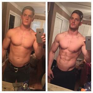 Amazing Before And After Success From Corey S  Using Our Fat Burner Phoenix On His Cut He Was