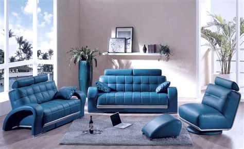 blue leather sofa living room comfortable blue leather sofa to add adorable living room