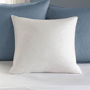 euro square euro feather pillow inserts pacific coast With european pillow inserts