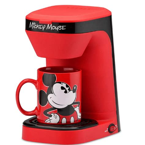 Are you looking for the best single serve coffee maker for your kitchen? Amazon: Disney Mickey Mouse 1-Cup Coffee Maker with Mug $18.79 (Reg. $34.01) - Fabulessly Frugal