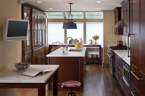 Cherry Kitchen Cabinets   Contemporary   kitchen   MSM