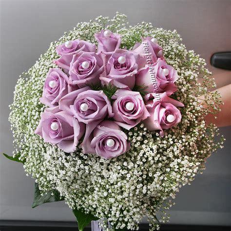 Bouquet Perle e Gipsofila   Fiorista Mantovani
