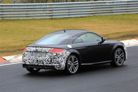 Spyshots 2019 Audi Tt Facelift Spotted Testing On The