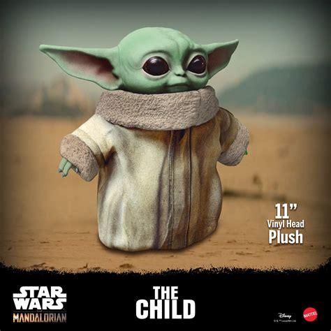 Mattel Star Wars The Child Plush Toy, 11-Inch Small Yoda ...
