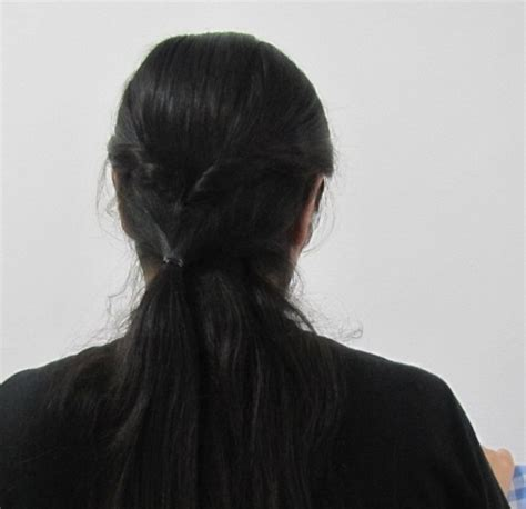 easy collegeoffice hairstyle  medium  long hair
