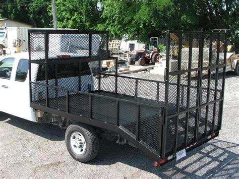 Custom Landscape Truck Beds