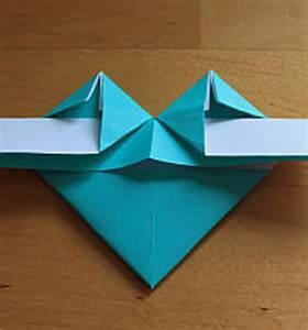 Herz Falten Origami : herz aus papier falten ~ Eleganceandgraceweddings.com Haus und Dekorationen