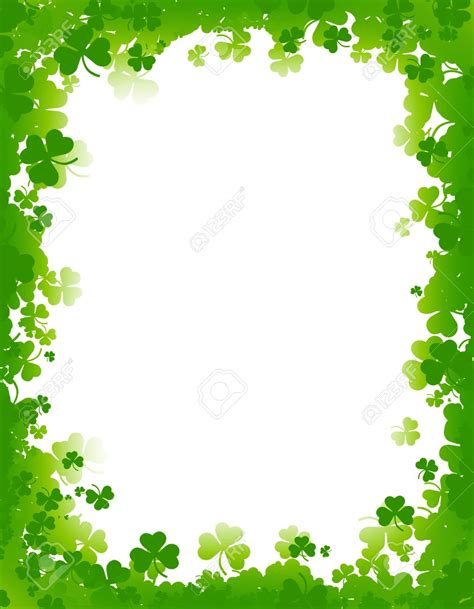 St Patricks Day Background Background Clipart St S Day Pencil And In Color