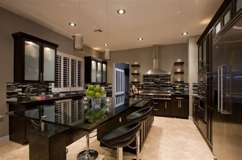 Contemporary Masculine Kitchen   Contemporary   Kitchen
