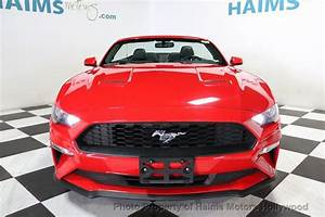 2018 Used Ford Mustang EcoBoost Convertible at Haims Motors Serving Fort Lauderdale, Hollywood ...