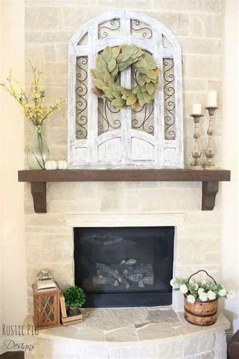 Decorating Ideas For Mantels by 28 Best Farmhouse Mantel Decor Ideas And Designs For 2019