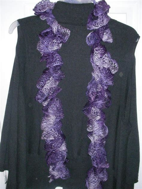 crochet curly scarves  craftsy