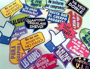 Kit De Letreros Para Fiestas!!! $ 80 00 en Mercado Libre