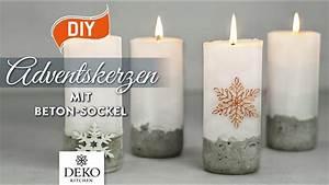 Deko Kitchen : diy stylische adventskerzen mit betonsockel how to deko kitchen youtube ~ A.2002-acura-tl-radio.info Haus und Dekorationen