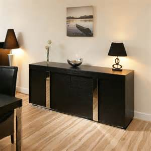 designer sideboards oak sideboard cabinet buffet in black oak 2 0mtr 912m ebay