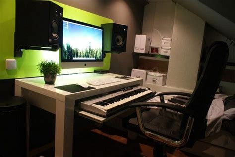 music studio desk ikea wanna make this http hacktivision org home studio desk