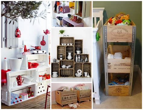 Decorating Ideas With Crates by Wooden Crates Decor Wooden Crate Box Decorating Ideas
