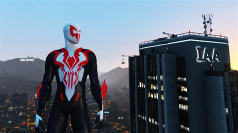 Spiderman 2099 All New All Different [addon] Gta5modscom