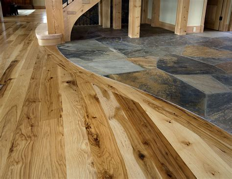 Kitchen Tile Flooring Ideas - wonderful and creative design of tile wood floor transition homesfeed
