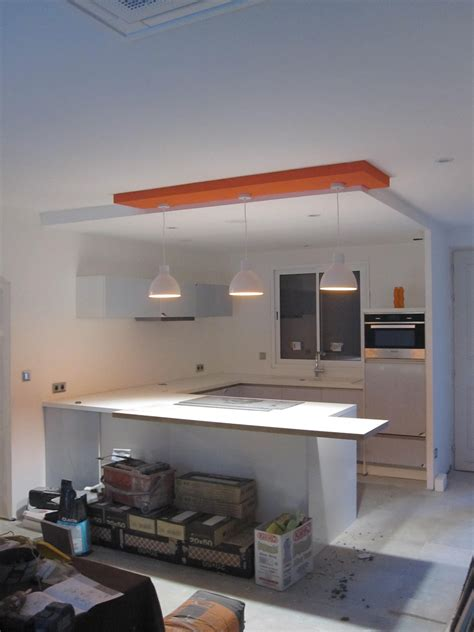 plafond de cuisine design faux plafond design ets morcant