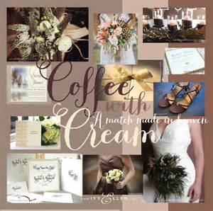 bridesmaid cards coffee with wedding colour schemeivy wedding invitations luxury wedding