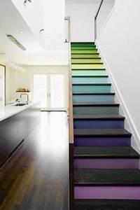 Les 25 meilleures idées concernant Escalier En Bois Peint sur Pinterest Peindre des escaliers