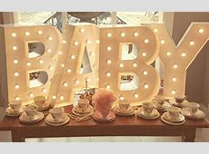 Baby Letters Light Up Letter Co