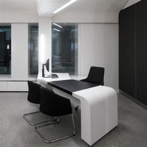 bureau de travail blanc moderne blanc bureau bureau solide surface bureau comptoir