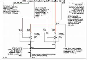 1996 Mercury Mystique Fuse Diagram