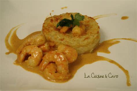 la cuisine de caro curry de crevettes et gratin de fruit à la cuisine caro