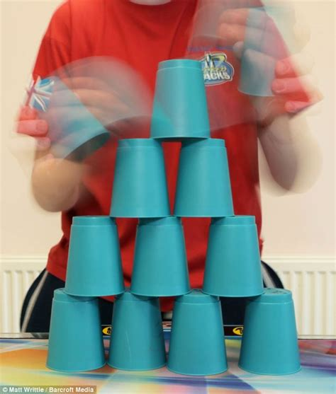 Plastic Cup Stacking Game