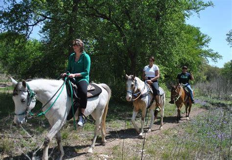 trail riding horseback antonio san tx trails texas horse