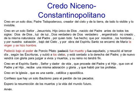 Preghiera Credo Testo by Credo Niceno Constantinopolitano2