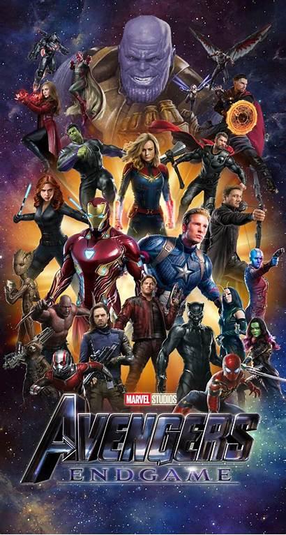 Endgame Avengers Iphone Marvel Wallpapers Cast Desktop