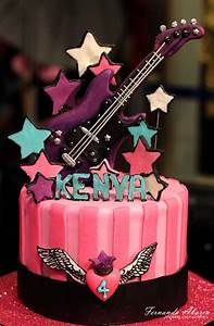 Rock Star Birthday Cake - CakeCentral com
