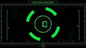Countdown, Timer, 30, Sec, Hud, V, 225, Clock, With, Sound