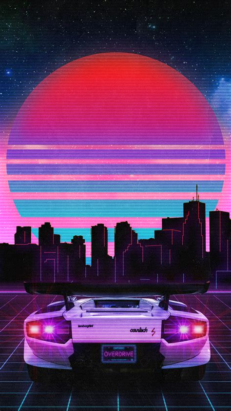 80s Neon Wallpaper Phone by Retrowave Wallpapers Wallpaper Cave