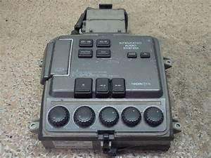1990 Honda Gl 1500 Goldwing Integrated Audio System W