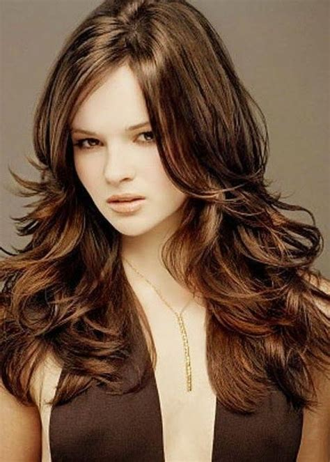 layered haircut thick hair 20 collection of hairstyles with layers for thick hair 5898