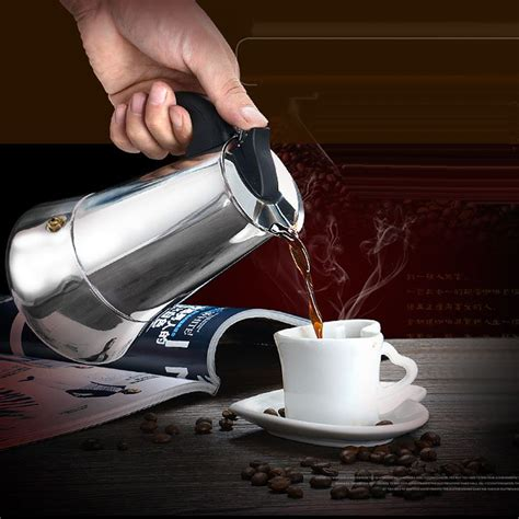 Some coffee aficionados say the secret to great stovetop espresso is starting with hot water. Moka Induction Italian Stovetop Espresso Coffee Maker ...
