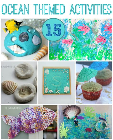 15 creative themed activities the imagination tree 407 | 15 ocean themed activities for kids