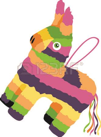 Donkey Clipart Fiesta  Pencil And In Color Donkey Clipart