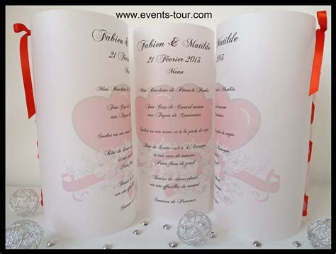menu photophore mariage for x1 ref 10304