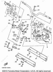 Yamaha Waverunner Parts 1996 Oem Parts Diagram For Steering 1