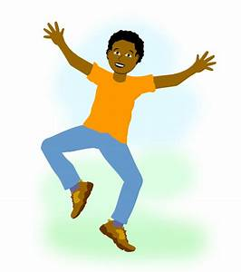 Boy Leaping for Joy - Free Art Images for Christians ...